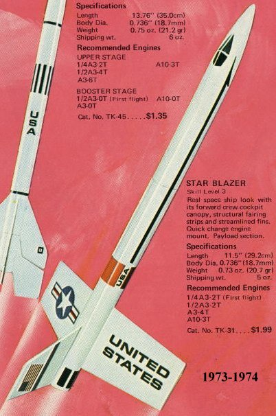 Estes Model Rocketry Kit Collecting Guide Kit 0831