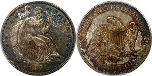 GFRC Open Set Registry - Civil War 1860 Seated  50C