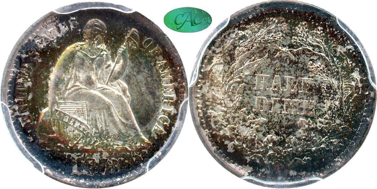 Seated 5C 1873S